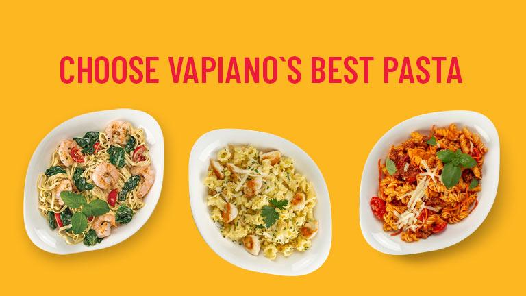 Best Vapiano pasta